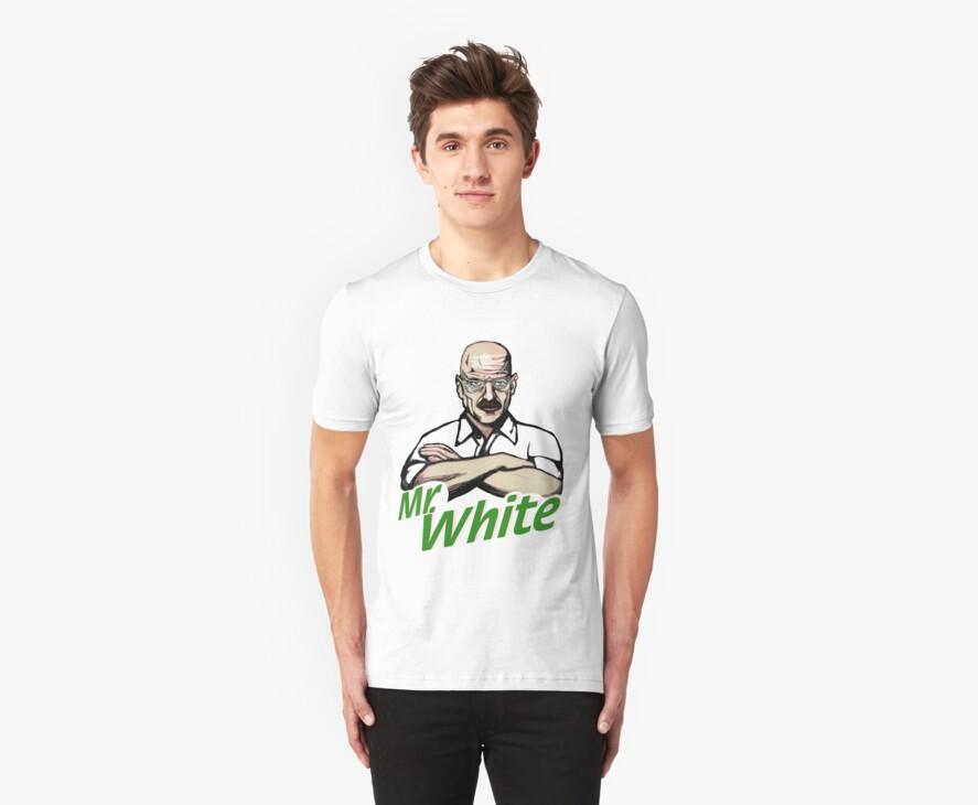 Mr. White by rubynibur