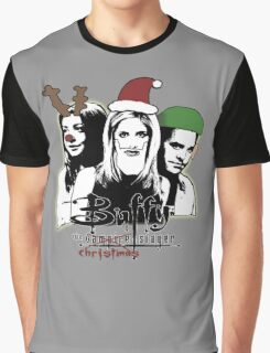 Buffy the Christmas Slayer! Graphic T-Shirt