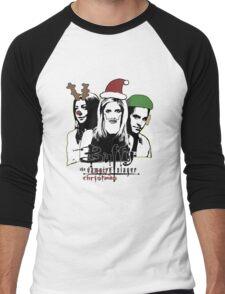 Buffy the Christmas Slayer! Men's Baseball ¾ T-Shirt