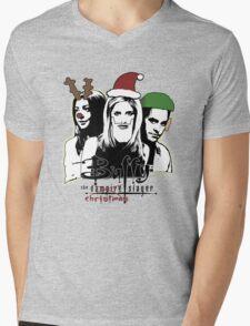 Buffy the Christmas Slayer! Mens V-Neck T-Shirt