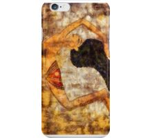 Dancer of ancient Egypt iPhone Case/Skin