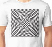 abstract squared pattern Unisex T-Shirt