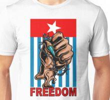 Freedom West Papua Morning Star Flag Unisex T-Shirt