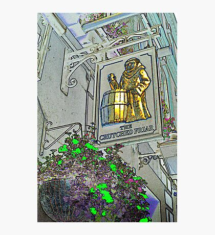 The Crutched Friar Public House Photographic Print