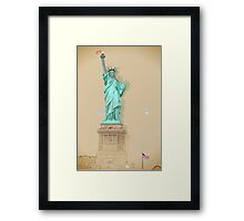 Statue of Liberty in New York City Framed Print