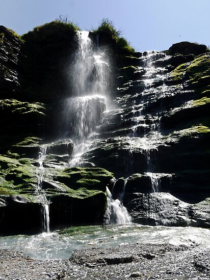 Tintagel Falls by mikebov