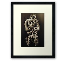 the composer (work in progress 2010) Framed Print