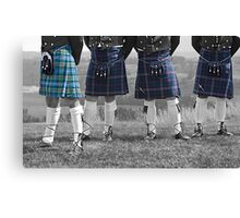 The Kilts Have It... Canvas Print