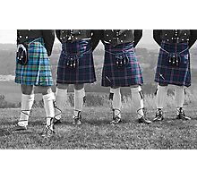The Kilts Have It... Photographic Print