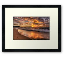 We Call It Palmie- Palm Beach, Sydney Australia - The HDR Experience Framed Print