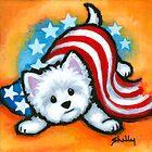 U.S. Westie by Shelly  Mundel