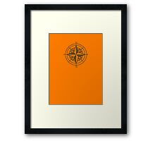 Going East Framed Print