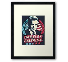 Bartlet for America  Framed Print