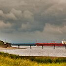 Leaving the Humber Estuary by Trevor Kersley