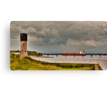 Leaving the Humber Estuary Canvas Print