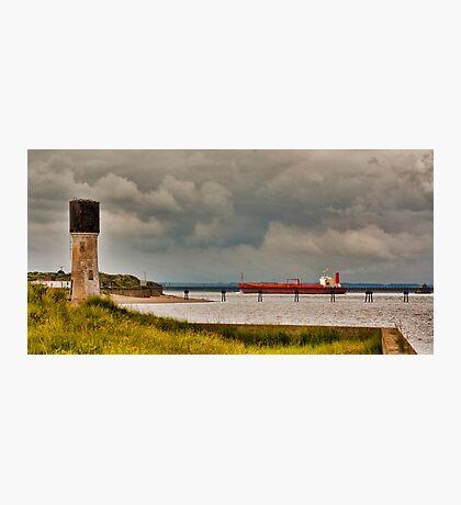 Leaving the Humber Estuary Photographic Print
