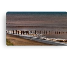 North Sea Defence Canvas Print