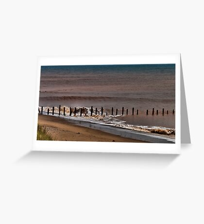 North Sea Defence Greeting Card