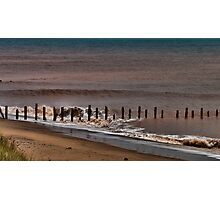 North Sea Defence Photographic Print