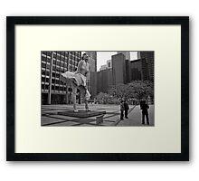 Windy City - Chicago Framed Print