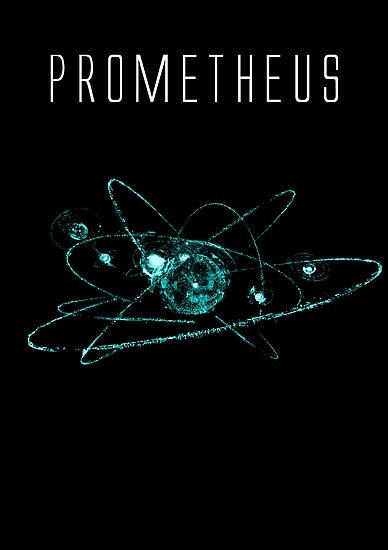 Prometheus teeshirt/Print by PickleWarrior