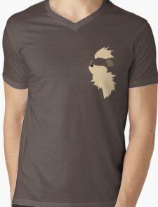 Growlithe! Mens V-Neck T-Shirt