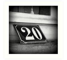 Maison n° 20 Art Print