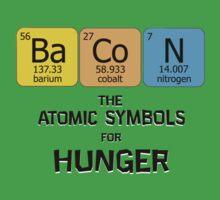 Atomic Symbol for Hunger Kids Clothes