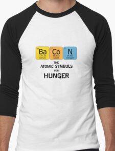 Atomic Symbol for Hunger Men's Baseball ¾ T-Shirt