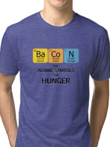 Atomic Symbol for Hunger Tri-blend T-Shirt