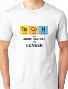 Atomic Symbol for Hunger Unisex T-Shirt