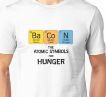 Atomic Symbol for Hunger Unisex T-Shirt