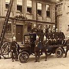 Ushers Fire Brigade by Trowbridge  Museum