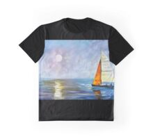Blue Sunrise Graphic T-Shirt