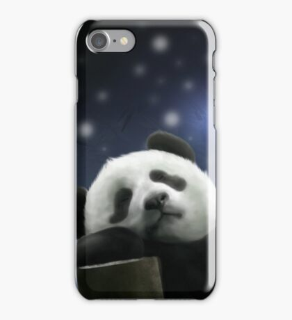 Sleeping Panda iPhone Case/Skin