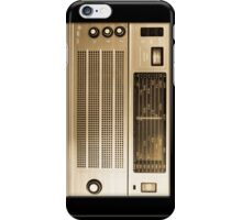 Retro 1960's radio / wireless iPhone case iPhone Case/Skin