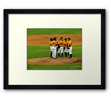 An Evening At The Game ~ Part Three Framed Print