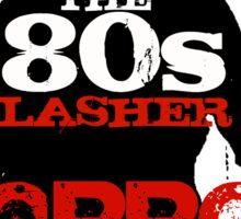The 80s Slasher Sticker