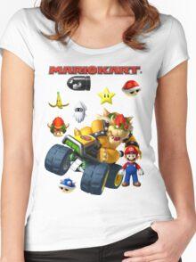 Mario Kart Women's Fitted Scoop T-Shirt
