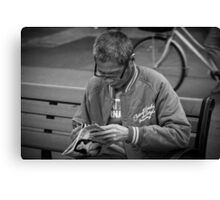 Street Photography Canvas Print