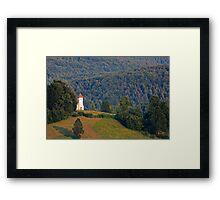 Church of Saint Lawrence Framed Print