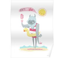 Sweaty Yeti Poster