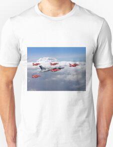 Final Vulcan Flight With The Red Arrows  - 3 Unisex T-Shirt