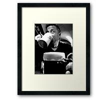 I never drink beer... Framed Print