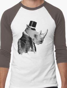 Richard R. Hornwood (Gentleman Rhino) Men's Baseball ¾ T-Shirt