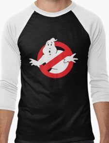 Ghostbusters 80s Logo Baseball Raglan Shirt for Adults