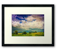 Stormy Landscape Framed Print