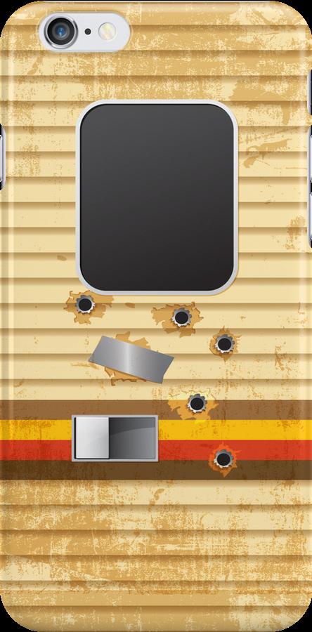Breaking Bad RV Bullet Holes iPhone Case by breakingBlue
