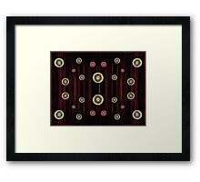 Mystic Symbols Framed Print