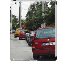 The cars iPad Case/Skin